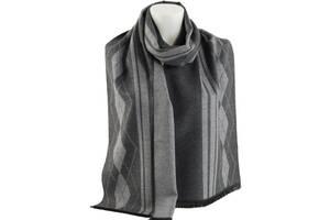 Мужской шарф Traum темный серый