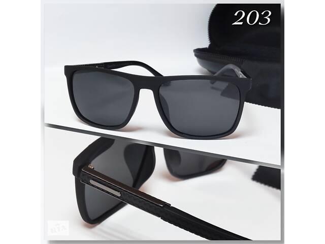 продам Мужские черные очки с поляризацией  бу в Александрие