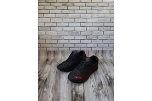 Мужские кожаные кроссовки 00642