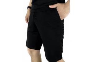 Мужские шорты трикотажные LaCosta черные SKL59-259650