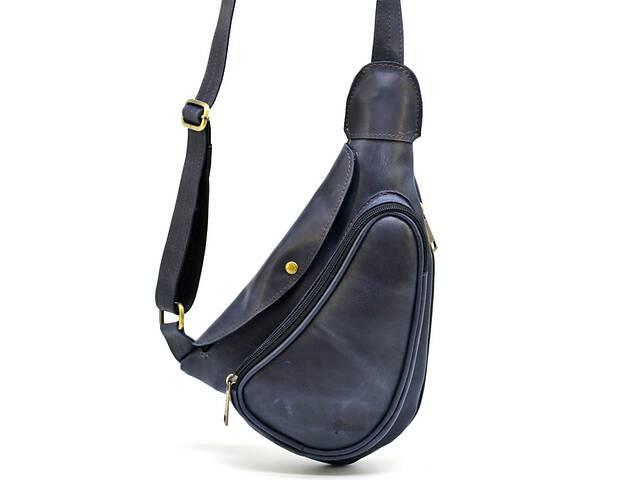 бу Мини-рюкзак из натуральной кожи на одно плечо  TARWA TRWTK-3026-3md в Киеве