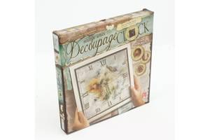 Набор Часы Decoupage clock DKC-01-01,02,03,04,0,5 с рамкой Данко Тойс SKL11-219380