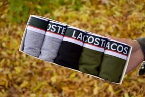 Набор мужских трусов Lacoste Чоловіча білизна