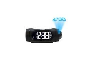Настольные часы с будильником Blaupunkt CRP9BK