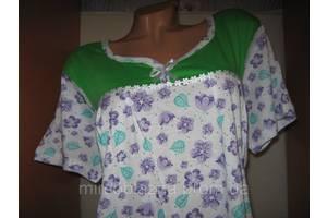 Нічна сорочка DOLLAR CLUB 100% бавовна пр-во Узбекистан розмір 54-56 короткий рукав різні забарвлення