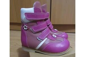 Нові зимові ортопедичні черевики Ecoby 27 розмір. Натуральна шкіра!