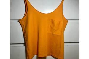 "Оранжевый топ ""ZARA"" размер S"