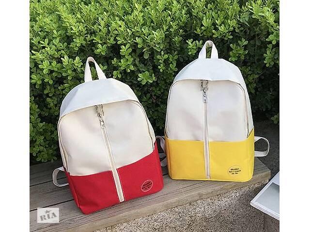 Оригинальный тканевый рюкзак с молнией- объявление о продаже  в Хмельницком