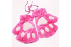 Перчатки для девочки девушки подарок идея подарки Винница что подарить на новый годе дочке сестре митенки без пальцев