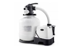 Песочный насос-фильтр-хлоргенератор Intex 26680 8000 л/ч 11 г/ч