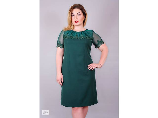 d5158efae52 купить бу Платье большого размера Люкс