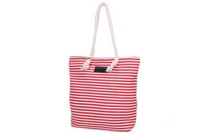 Пляжная сумка KMY Женская пляжная тканевая сумка KMY (КЭЙ ЭМ ВАЙ) DET1806-2