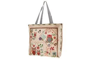 Пляжная сумка Valiria Fashion Женская пляжная тканевая сумка VALIRIA FASHION 3DETAL1810-2