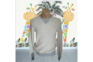 Polo Ralph Lauren оригинал Стильный хлопковый подростковый реглан св. серый