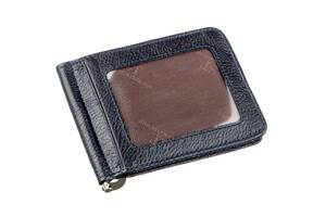 Практичный зажим для мужчин на магните ST Leather 18939 Синий, Синий