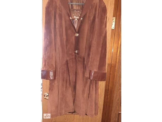 Продам красивое кожанное женское пальто- объявление о продаже  в Харькове