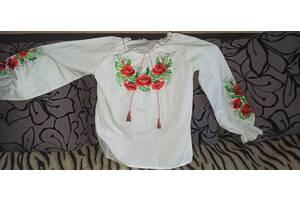 Продам вышиванку на девочку (на рост около 140-150 см)