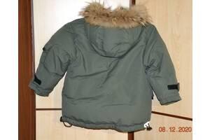 Пуховик натуральный на 2 - 4 года, 110 см. Jan Steen