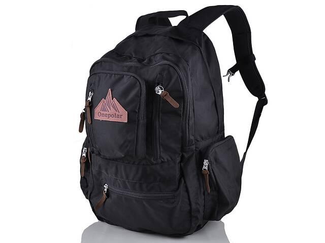 продам Рюкзак для ноутбука Onepolar Мужской рюкзак с отделением для ноутбука ONEPOLAR W1770-black бу в Одессе