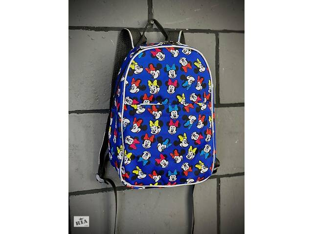 бу Рюкзак Mickey Mouse Городской микки маус голубой mini SKL59-283355 в Харькове