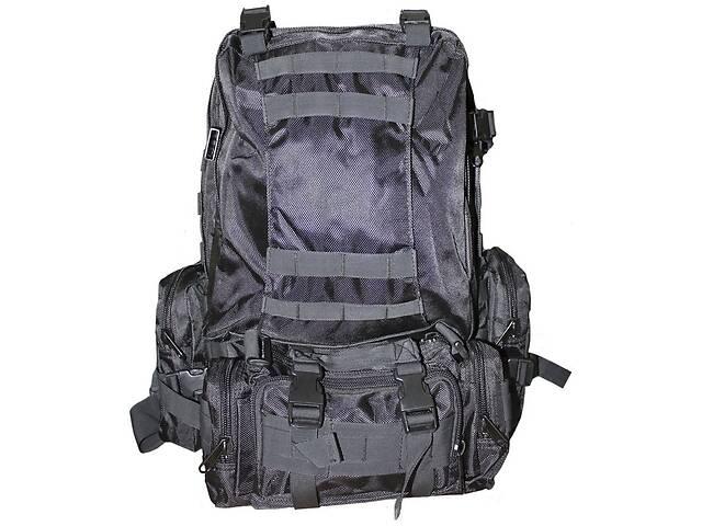 продам Рюкзак ML-Tactic с подсумками 1000D Black, B7013BK 36 л бу в Киеве