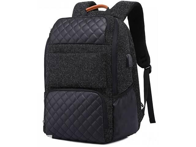 бу Рюкзак с отделением для ноутбука 15 дюймов Rowe черный в Киеве