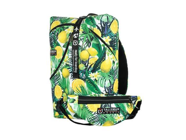 Рюкзак-трансформер rolltop для подорожей lowcost Lemon- объявление о продаже  в Одессе