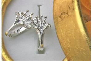 Серьги серебро 925 проба 4,56 грамма