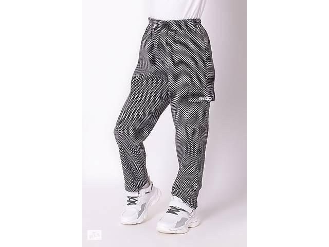 Серые брюки с карманами для девочки в школу Mevis 3583-01