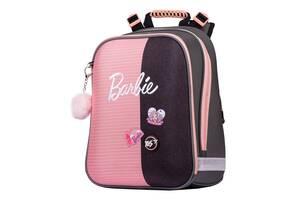 Школьный рюкзак для девочки ортопедический Барби для 1-4 класса YES H-12 Barbie 38 х 30 х 15 см (558784)(H-12)