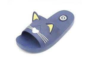 Шлепанцы Plazzo 23-24 17 см Синий (CAT blue 23-24)