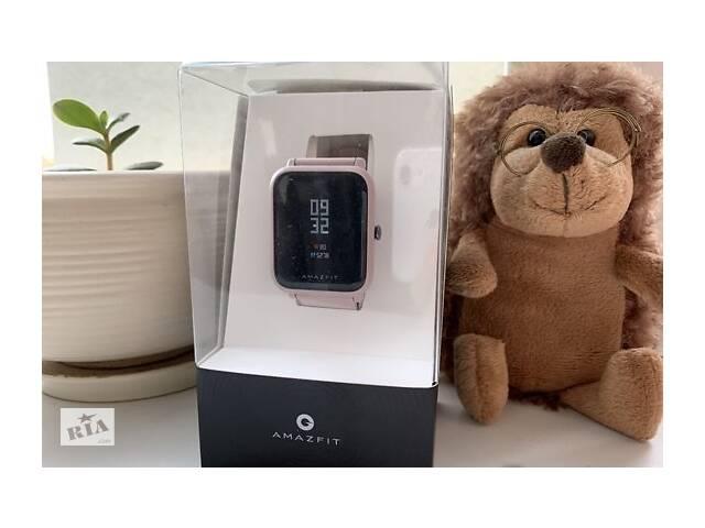 Смарт часы Xiaomi Amazfit BIP Lite A1915 pink Смарт часы Huami Smart Watch амазфіт бип лайт умный фитнес трекер- объявление о продаже  в Ровно