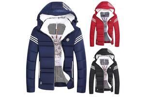 Спортивная мужская куртка на синтепоне