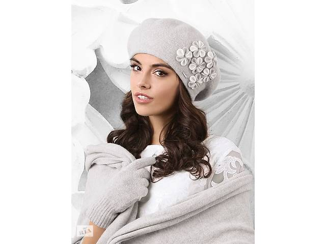 Стильный женский берет Гориция(Gorycja)  ТМ Kamea, шерстяной, двойной- объявление о продаже  в Харкові