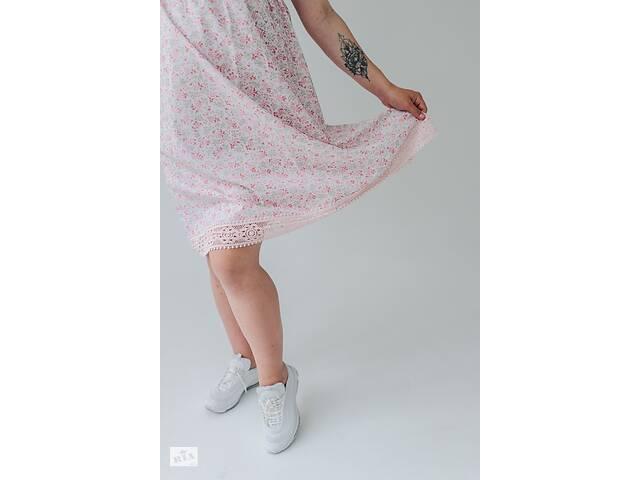продам сукня для вагітних білого кольору з квітами - Барселона бу в Львові