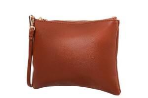 Сумка-клатч Amelie Galanti Жіноча сумка-клатч з якісного шкірозамінника AMELIE GALANTI A991503-red-brown