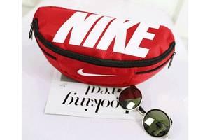 Сумка на пояс Nike Team Training 142, красный, копия
