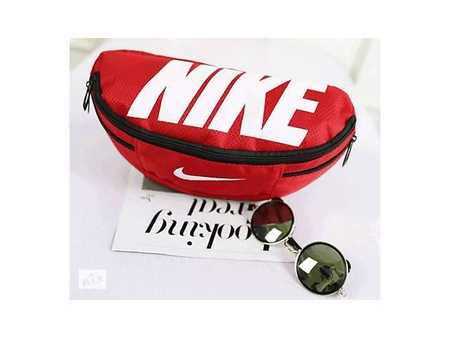 купить бу Сумка на пояс Nike Team Training 142, красный, копия в Киеве