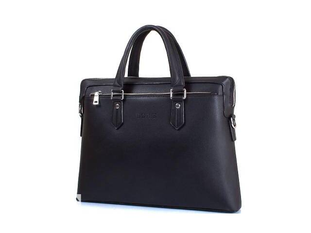 Сумка повседневная Bonis Мужская сумка из качественного кожезаменителя с карманом для ноутбука с диагональю экрана до...- объявление о продаже  в Одессе