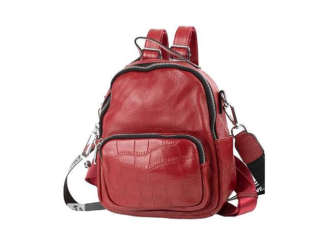продам Сумка-рюкзак Vito Torelli Рюкзак женский кожаный VITO TORELLI VT-6-580-red бу в Одессе