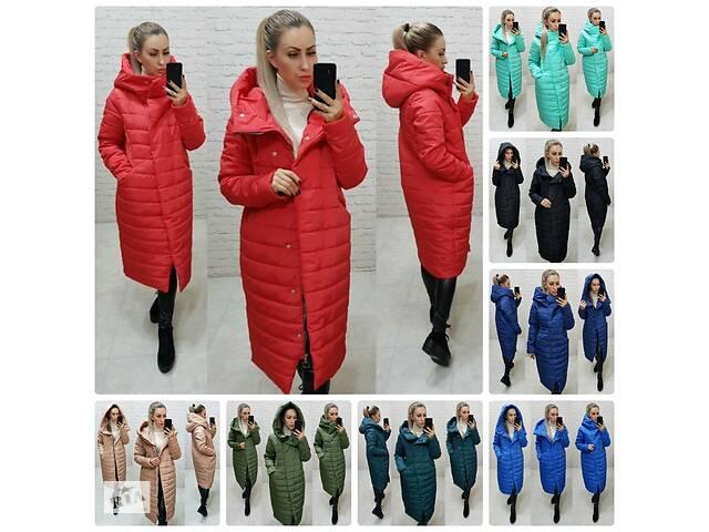 продам Тёплая женская зимняя куртка по фигуре хорошо простроченная на силиконе 10 цветов бу в Харькове