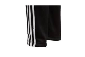 Теплые зауженные спортивные штаны Адидас на флисе Зима Adidas байка джоггеры