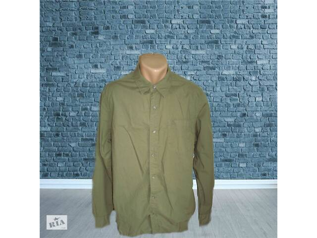 купить бу Timberland regular Fit оригинал Стильная мужская рубашка дл рукав М/L хаки в Чернигове