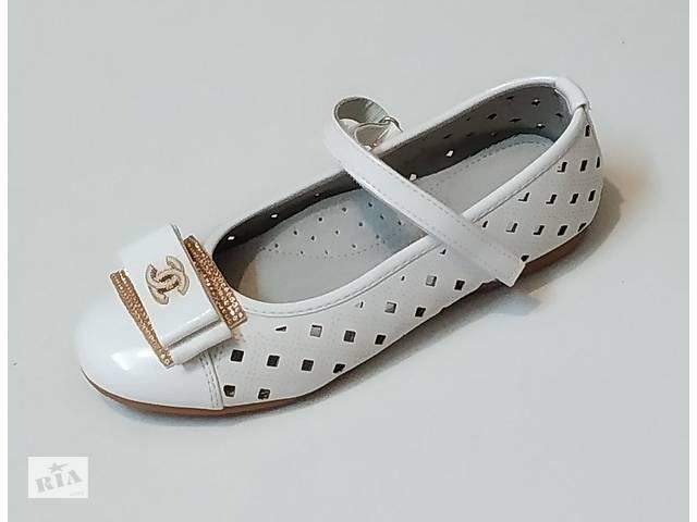 бу Туфли белые для девочки 30-34 размер. в Краматорске