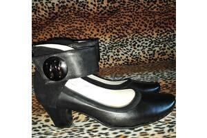 Туфли женские кожа новые 39р.