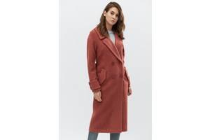 Удлиненное пальто на осень. J-2009-22. Тициан. Размер 42-44