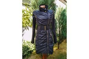 Ветровка плащ куртка темно синего цвета