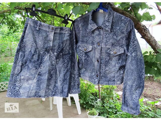 купить бу Villa happ крутой джинсовый костюм на 158 см. xxs (Дания) в Харькове