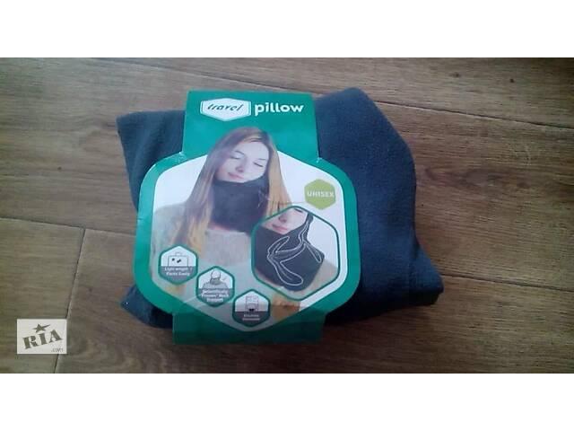 бу Воротник Шарф Подушка для путешествий Travel pillow Серый, новый  в Украине