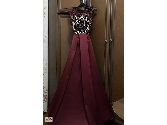 бу Выпускное платье (Бархатный кружево + атлас) в Кременце